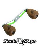 Trickshop Silver/Lime Handle Assembly