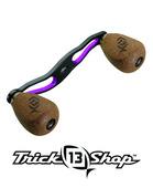Trickshop Black/Purple Handle Assembly
