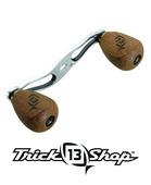 Trickshop Silver/Black Handle Assembly