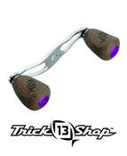 Trickshop Purple Handle Knob Caps