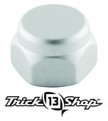 Trickshop Brushed Silver Handle Nut