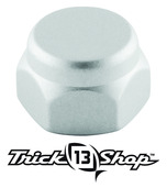 Trickshop Brushed Silver Handle Nut
