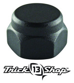 Trickshop Matte Black Handle Nut