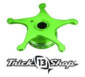 Trickshop Lime/Silver Star Drag