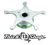 Trickshop Silver/Lime Star Drag