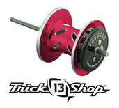 Trickshop Red/Silver Spool Assembly