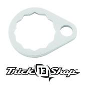 Trickshop Brushed Silver Handle Nut Lock