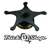 Trickshop Black/Gold Star Drag