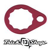 Trickshop Red Handle Nut Lock