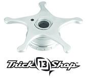 Trickshop Brushed Silver Star Drag
