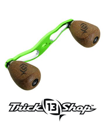 Trickshop Lime/Silver Handle Assembly picture