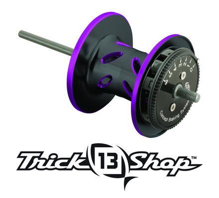 Trickshop Black/Purple Spool Assembly picture