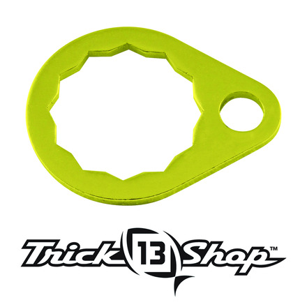 Trickshop Yellow Handle Nut Lock picture