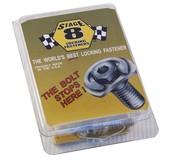 "#8911A  SB CHEVY HEADER BOLT KIT W/1"" BOLT"