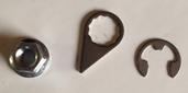 #NUT10MMA   M10-1.50 6PT Flange Grade 10.9 Grooved Locking Nut Assembly