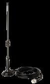 Antenne CB de 18,5 pouces avec support magnétique