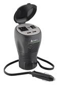 Cup-holder Design 200 Watt Power Inverter
