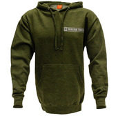 Green Pullover Hoodie - L