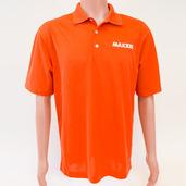 Nike Golf Micro Pique Polo Orange - X-Large