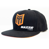 Maxxis Racing Victra Black Snapback Flat Bill