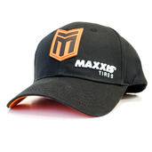 Maxxis Racing Victra Black Snapback Curved Bill