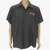 Shirts - S/S Maxxis Tire Pit Charcoal L