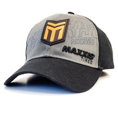 Maxxis Racing Bravo Grey Snapback Curved Bill
