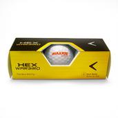 Golf Balls - HEX Warbird (sleeve of 3)