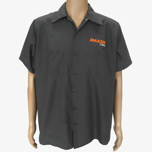 Shirts - S/S Maxxis Tire Pit Charcoal S picture