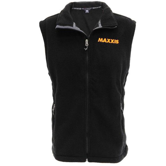 Fleece Fullzip Vest Black - S picture