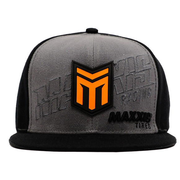 Maxxis Racing Bravo Grey Snapback Flat Bill picture