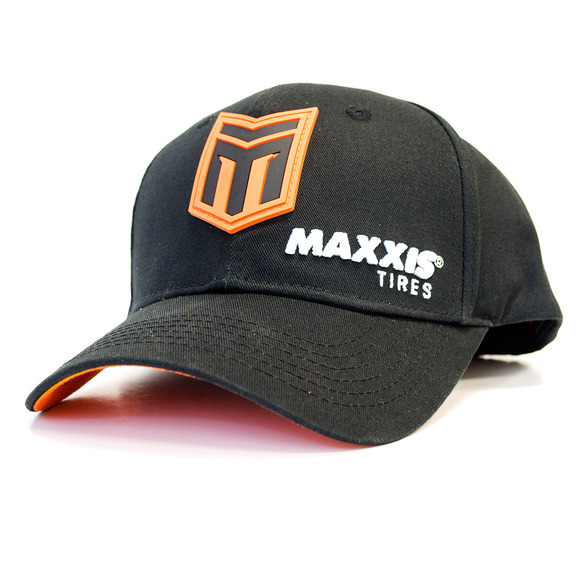Maxxis Racing Victra Black Snapback Curved Bill picture