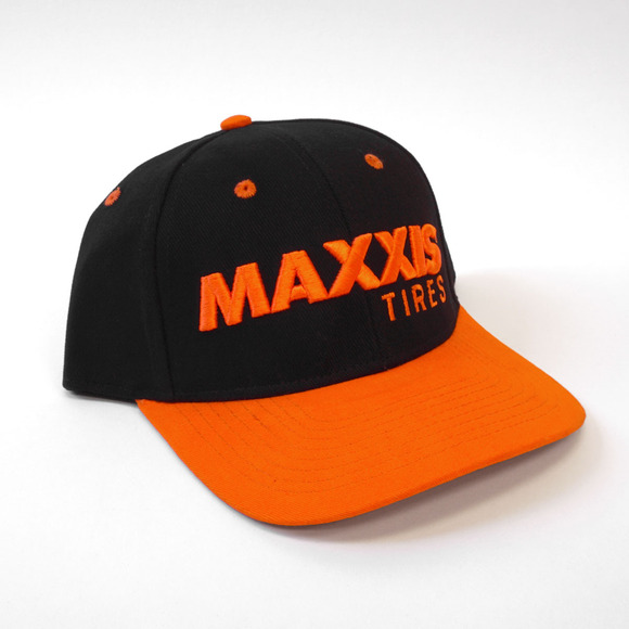Maxxis Podium Snapback Cap - Curved Bill picture