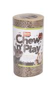 Chew N Play Cardboard Log