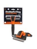 Deshed 'a' Dog Large Orange/Black 100mm blade