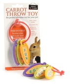 Carrot Throw Rabbit Toy