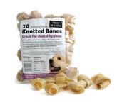 Hide Knotted Bones - 20 pcs