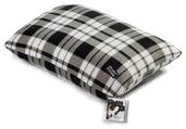 Fleece Black & White Tartan Mattress