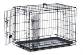Dog Crate - Medium Black