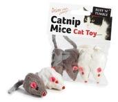 Catnip Mice 4 pcs 5cm