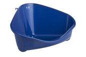 Corner Litter Pan Large Blue Berry 49cm