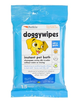 Doggy Wipes Flow Pack - Xlge 15pcs picture