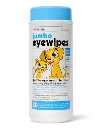 Jumbo Eye Wipes - 80pk picture