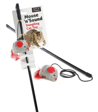 Mouse 'n' Sound Dangling Cat toy picture