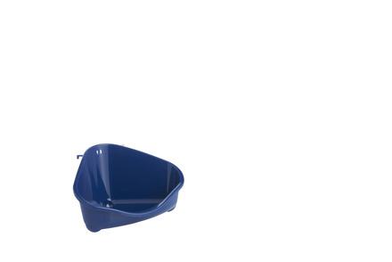 Corner Litter Pan, Mini, Blue Berry 18cm picture