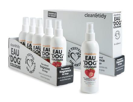 Eau De Cologne Spray For Dogs - Strawberry picture