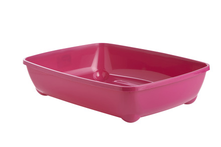 Cat Litter Tray Hot Pink 50cm picture