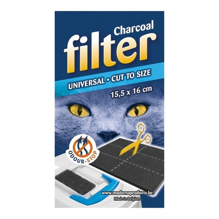 Universal Hooded Cat Loo Filter Cut To Fit picture