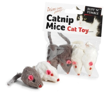 Catnip Mice 4 pcs 5cm picture