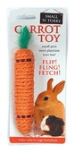 Sisal Carrot Rabbit Toy